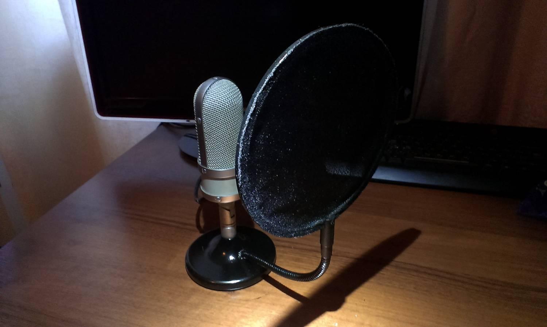 Настольный микрофон своими руками. - Видео 58